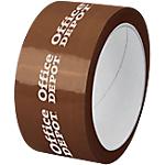 Nastro imballo personalizzabile in polipropilene 28 micron 50 mm x 66 m avana