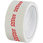 Nastro imballo personalizzabile in polipropilene 28 micron 50 mm x 66 m bianco