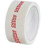 Nastro imballo personalizzabile in PVC 33 micron 50 mm x 66 m bianco