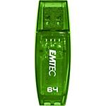 USB Flash Drive EMTEC C410 2.0 64 gb verde