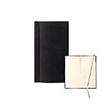 Notebook Letts nero rigato non perforato