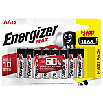 Batterie Energizer Max AA 12 unità