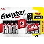 Batterie alcaline Energizer MAX AA 8 unità