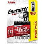 Batterie alcaline Energizer MAX AAA 8 unità
