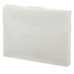 Valigetta porta documenti FAVORIT trasparente polipropilene 38 x 29 cm