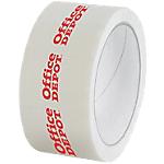 Nastro adesivo per imballo 1 2 colori 720 bianco
