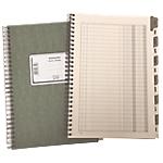 Scadenziario con rubrica Data Ufficio Gennaio Dicembre 17 x 24 cm
