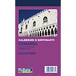 Blocchi comande ristorante Data Ufficio 2 Copie Bianco senza rigatura non perforato 10 x 16,8 cm carta 40 unità