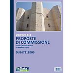 Blocco proposte di commissione Data Ufficio Bianco rigato perforato 21,5 x 29,7 cm carta