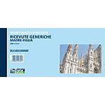 Blocchi ricevute generiche Data Ufficio Bianco rigato non perforato 21,5 x 10 cm carta