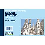 Blocchi ricevute generiche Data Ufficio Bianco rigato perforato 16,8 x 16,8 cm carta