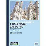 Prima nota cassa e cassa banca Data Ufficio Bianco rigato perforato 21,5 x 29,7 cm carta