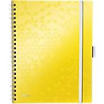 Blocco per appunti Leitz Wow Be Mobile A4 a quadretti giallo