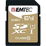 Memoria flash EMTEC Gold Plus 64 gb