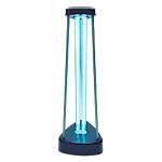 Lampada germicida con ozono V TAC UV C 38W Nero