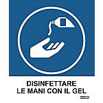 Etichette Markin Disinfettare le mani con il gel 125 x 152 mm 2 unità