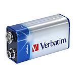 Batteria alcalina Verbatim 9V