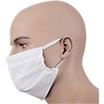 Mascherine facciali ad uso medico Tipo I Ecofibra antigoccia confezione singola 10 unità