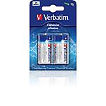 Batterie alcaline Verbatim C LR14 Baby 1.5V C 2 unità