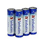 Batterie alcaline Verbatim AA LR6 Mignon 1.5V 4 unità