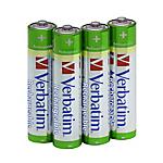 Batterie ricaricabili Verbatim AAA 1.2V 4 unità