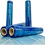 Film estensibile Iceroll Trasparente, azzuro 500 mm x 250 m 15 µ
