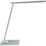 Lampada da tavolo Unilux Popy argento 6 w