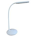 Lampada da tavolo Unilux Nelly argento 7.8 w