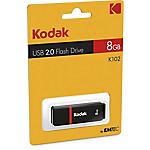 Chiavetta USB Kodak 2.0 K100 8 gb nero, rosso