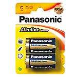 Batterie alcaline Panasonic LR14 C 2 unità