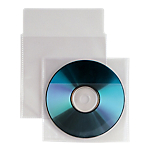 Buste porta CD DVD SEI trasparente 25 unità