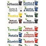 Etichette Tico raccolta differenziata 16 unità