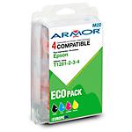 Cartuccia inchiostro compatibile ARMOR b10215r1 nero, ciano, magenta, giallo 4 unità