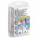 Cartuccia inchiostro compatibile ARMOR b10111r1 nero, ciano, magenta, giallo 5 unità