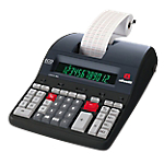 Calcolatrice Olivetti B5895 12 cifre grigio