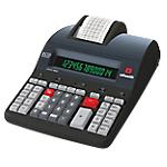 Calcolatrice scrivente Olivetti B5896 14 cifre nero