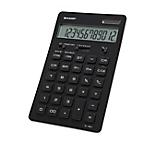 Calcolatrice da tavolo Sharp EL364BBK 12 cifre nero