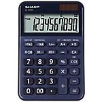 Calcolatrice da tavolo Sharp EL M335 10 cifre blu