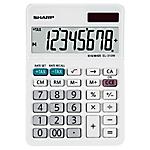 Calcolatrice da tavolo Sharp EL 310W 8 cifre bianco
