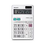 Calcolatrice da tavolo Sharp EL320WB 12 cifre bianco