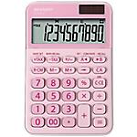 Calcolatrice da tavolo Sharp EL M335 10 cifre rosa