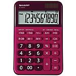 Calcolatrice da tavolo Sharp EL M335 10 cifre rosso