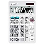 Calcolatrice da tavolo Sharp EL 330W 10 cifre bianco