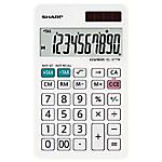Calcolatrice da tavolo Sharp EL 377W 10 cifre bianco