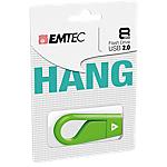 Memoria USB 2.0 EMTEC D200 8 gb arancione