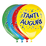Palloncini BiG PARTY Happy Birthday Assortiti 20 unità