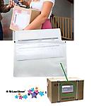 Buste portadocumenti adesive Starline 13 x 17,5 cm 100 unità