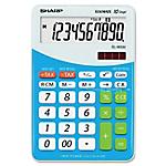 Calcolatrice da tavolo Sharp EL M332 BBL 10 cifre blu