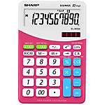 Calcolatrice da tavolo Sharp EL M332 10 cifre rosa
