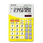 Calcolatrice da tavolo Sharp ELM332BYL 10 cifre giallo